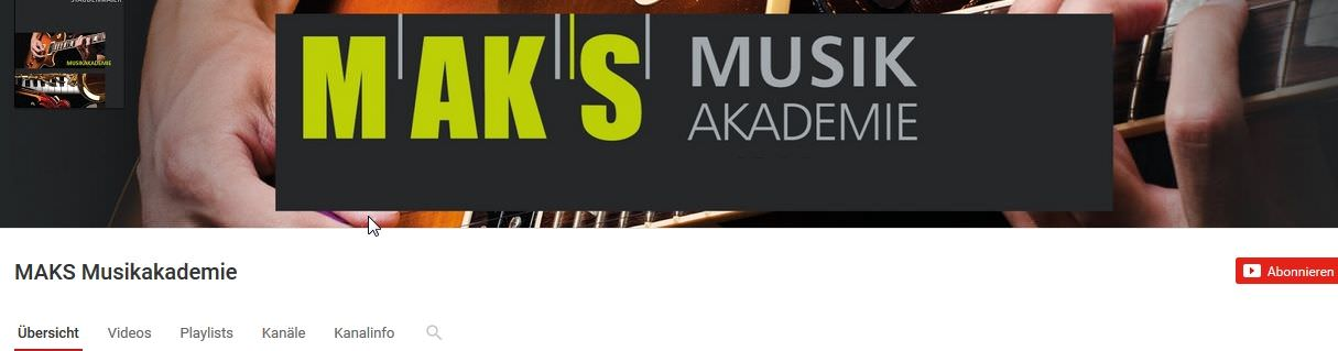 MAKS YouTube-Kanal